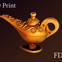 1.png Download free STL file Gin lamp • Model to 3D print, Haridon