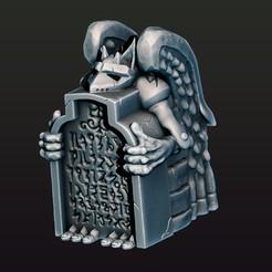 1.jpg Télécharger fichier STL Gargoyle • Plan imprimable en 3D, Haridon