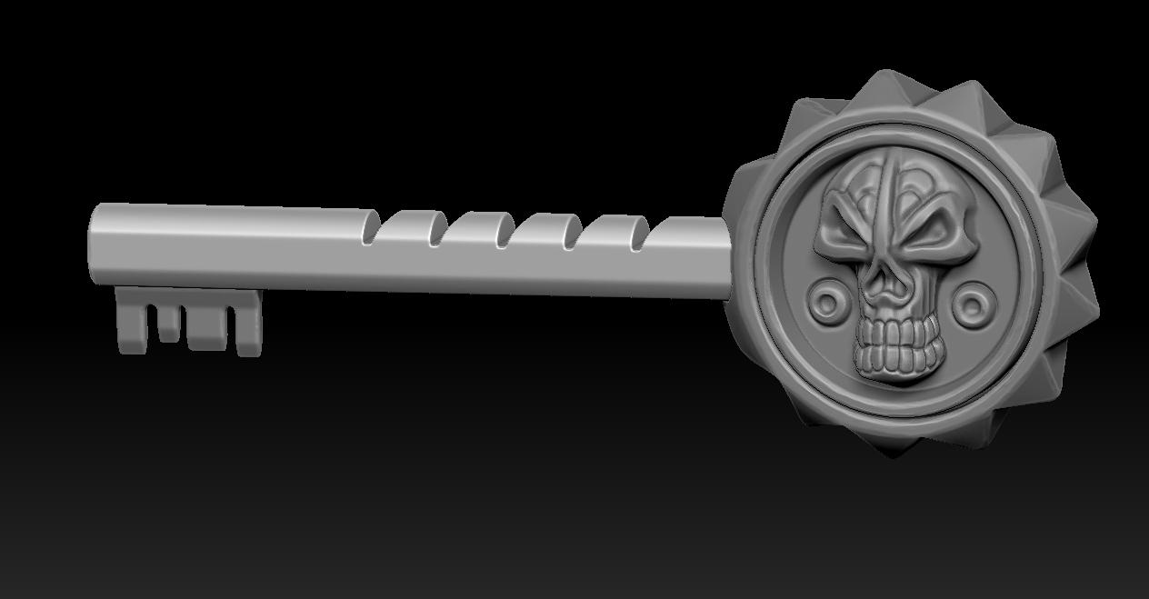 2020-07-05_123519.jpg Télécharger fichier STL gratuit Clé pirate • Modèle pour impression 3D, Haridon