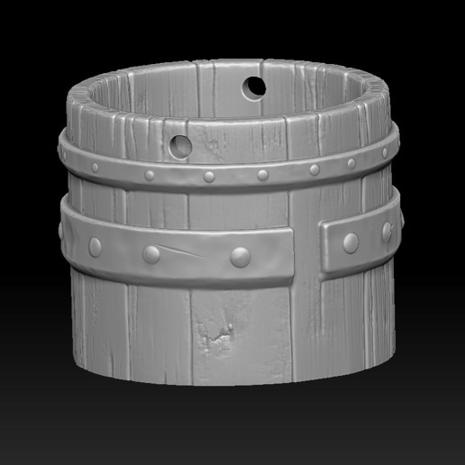 15.jpg Download STL file witch bucket • 3D printable template, Haridon