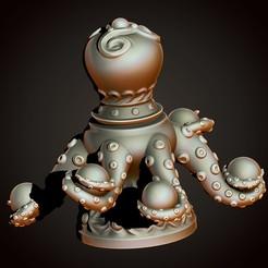 2.jpg Télécharger fichier STL Vase à pieuvre • Modèle imprimable en 3D, Haridon