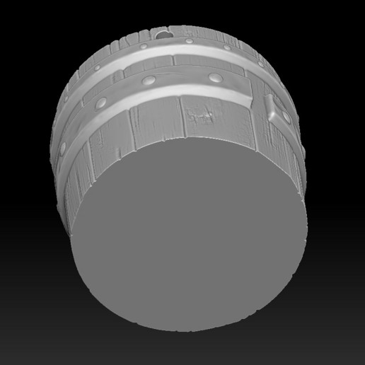 17.jpg Download STL file witch bucket • 3D printable template, Haridon
