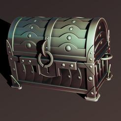 1.jpg Download STL file Armored chest • 3D printer model, Haridon