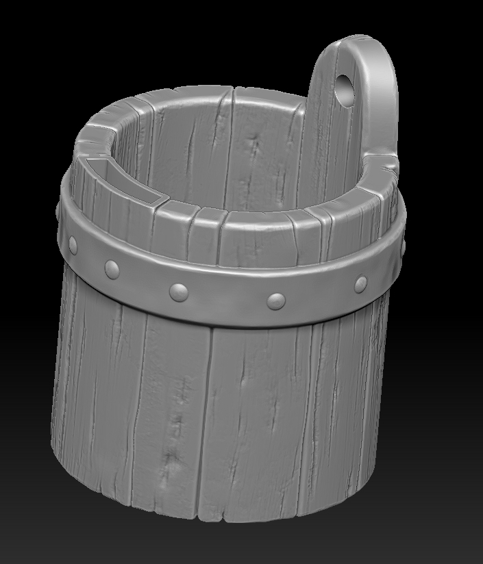 21.jpg Download STL file witch bucket • 3D printable template, Haridon