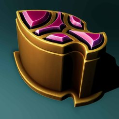 Download 3D printer designs Gold lootbox, Haridon