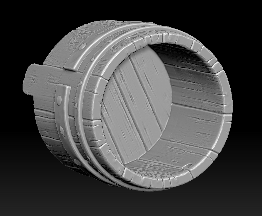 13.jpg Download STL file witch bucket • 3D printable template, Haridon