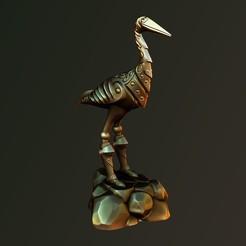 Descargar modelos 3D para imprimir Caballero de la garza, Haridon