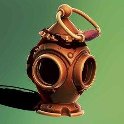1.jpg Download STL file Bronze lamp • 3D printing model, Haridon