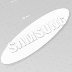 samung1.PNG Download STL file Samsung Logo • 3D printing design, vinuka16