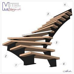 Descargar modelo 3D gratis Escalera mecánica, albertkarlen