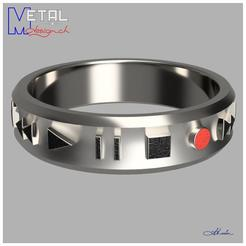 AnAudio-Shapetizer.jpg Download free STL file Audio Ring • 3D print template, albertkarlen