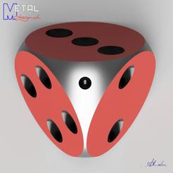 dé_4_faces-1.png Download free STL file Dé à 4 faces • Design to 3D print, albertkarlen