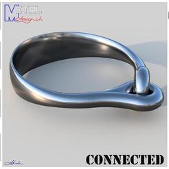 Bracelet_N8-Présentation.jpg Download free STL file Connected Bracelet • Design to 3D print, albertkarlen