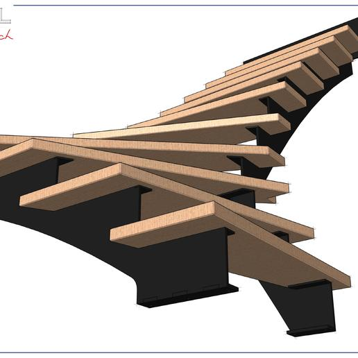Escalier.jpg Download free STL file Escalier • 3D printable design, albertkarlen