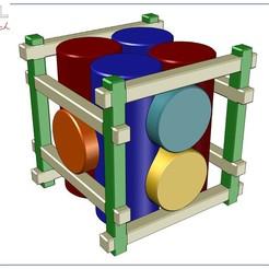 Fagot_1.jpg Download free STL file Puzzle Fagot • Object to 3D print, albertkarlen