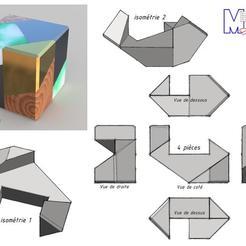 Descargar archivos 3D gratis El cubo del rompecabezas, albertkarlen