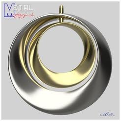 Pendentif_Moebius-Shapetizer.jpg Download free STL file Moebius pendant • 3D printing model, albertkarlen
