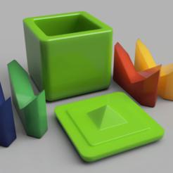 Impresiones 3D gratis Caja de mariposas, albertkarlen