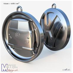 Download free 3D print files Porte-clés Combi VW, albertkarlen