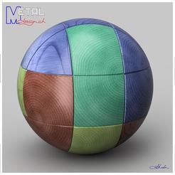 Impresiones 3D gratis Puzzle boule, albertkarlen