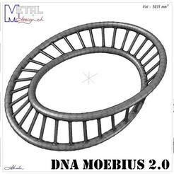 Descargar archivos 3D gratis ADN Moebius 2.0, albertkarlen