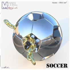 Football1-Présentation.jpg Télécharger fichier STL gratuit Soccer • Objet à imprimer en 3D, albertkarlen