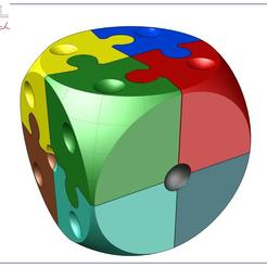 Puzzle_7b.jpg Download free STL file Puzzle dé 2 • 3D printable design, albertkarlen