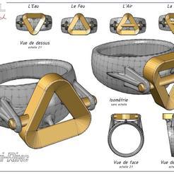 Alchi-ring_.jpg Download free STL file Alchi-Ring • 3D printer design, albertkarlen