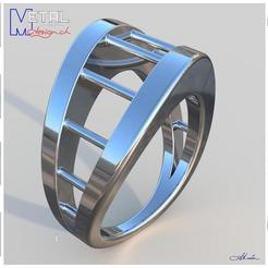 Download free 3D print files Bague N°28, albertkarlen