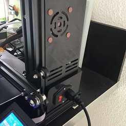 Télécharger plan imprimante 3D gatuit [Ender 3 Pro] Meanwell LRS-350-24 Couverture, funkTLS
