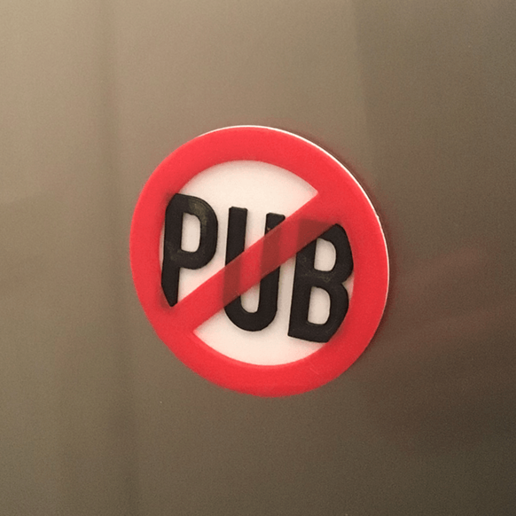 Download free STL file Stop Pub • Design to 3D print, funkTLS