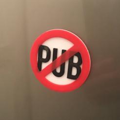 Download free 3D printer designs Stop Pub, funkTLS