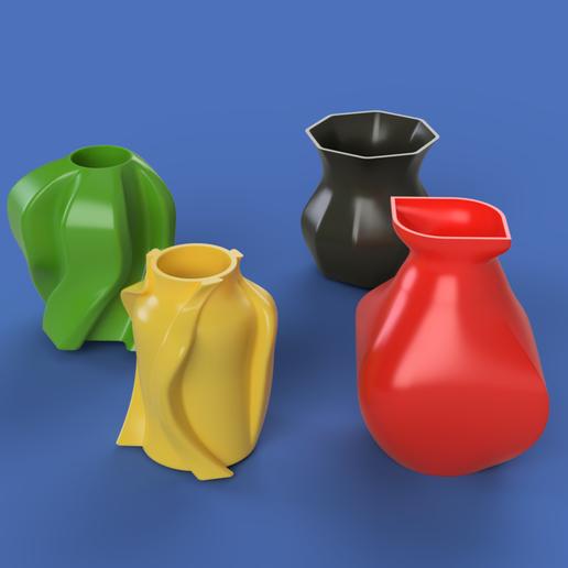Download free STL file vases • 3D printer design, edwartvisual