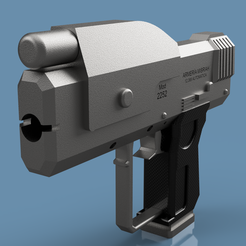 9399ec4e-b5c6-4101-80fd-a4f7360f030f.PNG Download free STL file M6g Semi-Automatic Gun • Template to 3D print, edwartvisual