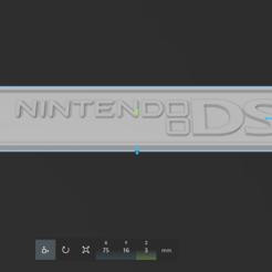 Nintendo DS - 2004.PNG Télécharger fichier STL Nintendo DS, 3DS, Wii, WiiU, Keychain Switch • Design pour imprimante 3D, Escala-STL