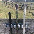 Download free STL file Equestrian Whip Holder • 3D print object, horsebytes