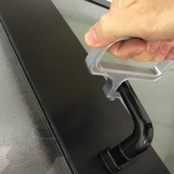 Imprimir en 3D abridor de la puerta del coronavirus, mbbmwe39