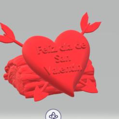 valentine 4.PNG Download STL file Happy Valentine Day • 3D printable object, SLF_DEV_POTOSINO