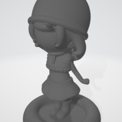 loli1.PNG Download STL file Chibi Doll • 3D printer design, SLF_DEV_POTOSINO