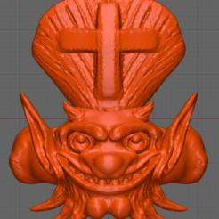 Demon pope 3.PNG Download OBJ file Ring (Pope demon concept). • 3D printer design, SLF_DEV_POTOSINO