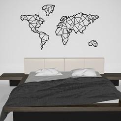 Untitled 1.jpg Télécharger fichier STL Carte du monde • Plan à imprimer en 3D, Phlegyas