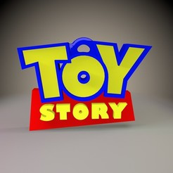 1.jpg Download STL file Toy Story Keychain • 3D printing object, Phlegyas