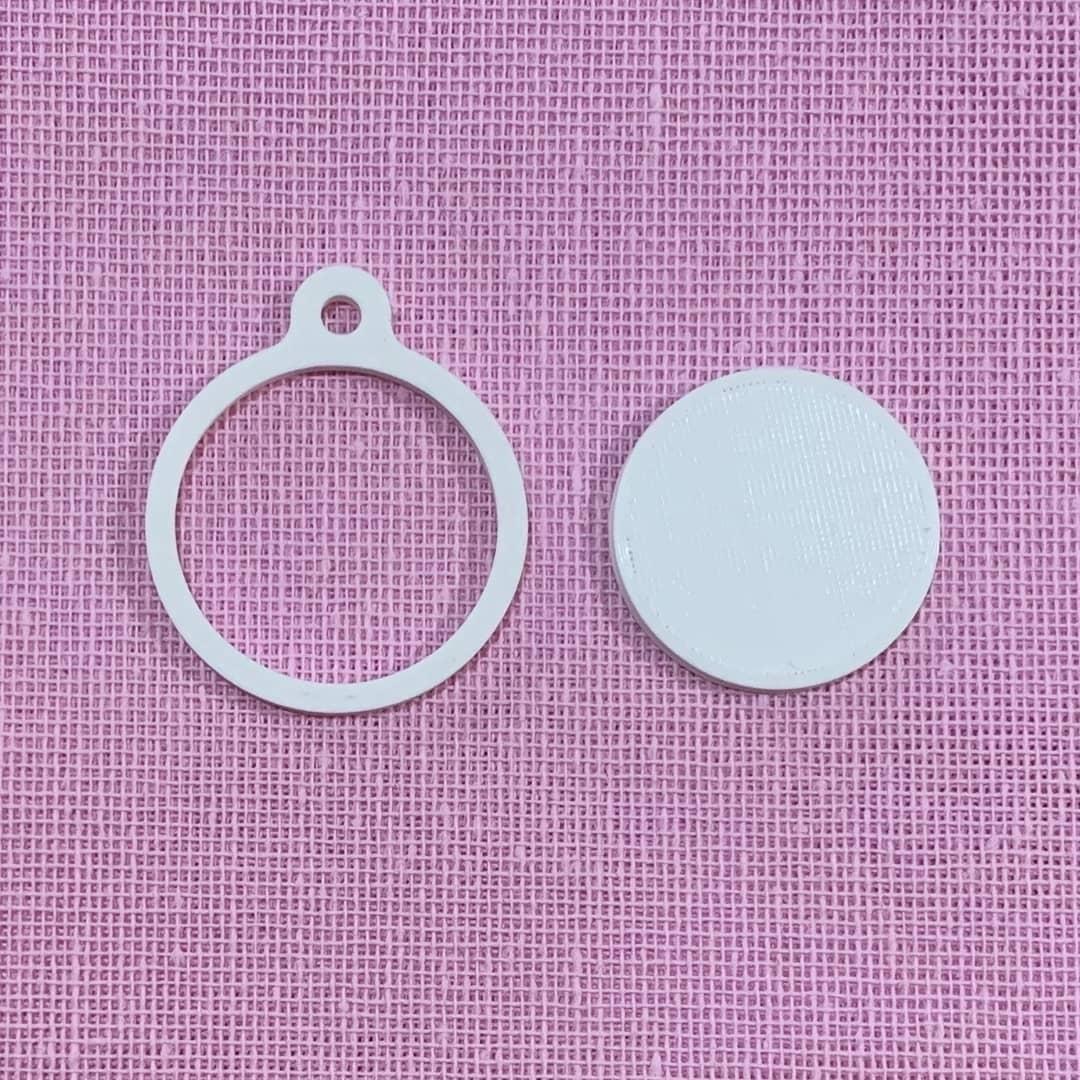 IMG_8175.JPG Télécharger fichier STL Porte-clés cadre à broder • Design pour imprimante 3D, Phlegyas
