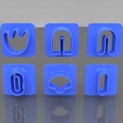 MAINphoto.jpg Download STL file Clay Earring Cutter Kit • 3D printable design, Phlegyas