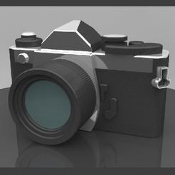11.jpg Download STL file Nikon fm2 camera • 3D printable template, Phlegyas