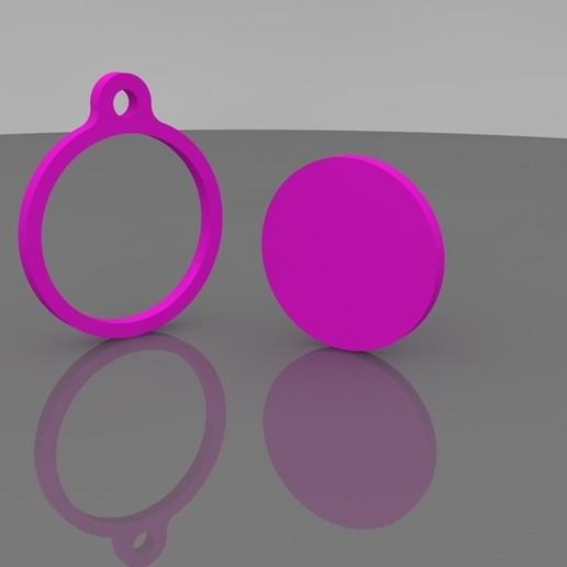 FOTO4.jpg Télécharger fichier STL Porte-clés cadre à broder • Design pour imprimante 3D, Phlegyas