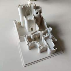 IMG_20200726_111753 (2).jpg Download STL file Kaer Morhen Witcher Castle • 3D print template, eProjekt3d