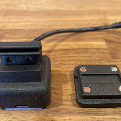 Télécharger modèle 3D Virgule AI Eon Monture magnétique, dibble9012