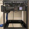 Télécharger fichier imprimante 3D Raspberry Pi 4 1U Rack Mount, dibble9012