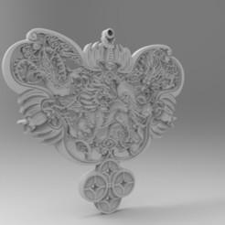 Download free 3D printer designs Jewelry pendants, alipei008